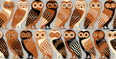 Owls of Athens