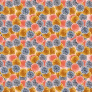 Pompom Design Cherry Picking