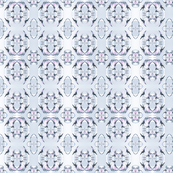 Grey rose pattern 2