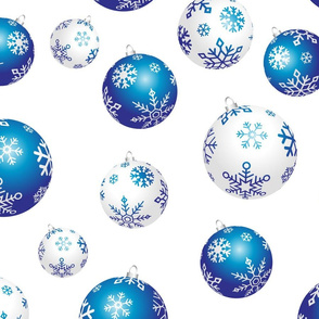 The Blue Christmas Ball