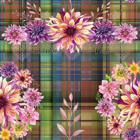 Rdalhias_wreath_bouquet_on_madras_plaid_autumn_shades_r_by_floweryhat_shop_preview