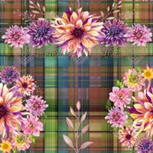 Rdalhias_wreath_bouquet_on_madras_plaid_autumn_shades_r_by_floweryhat_shop_thumb