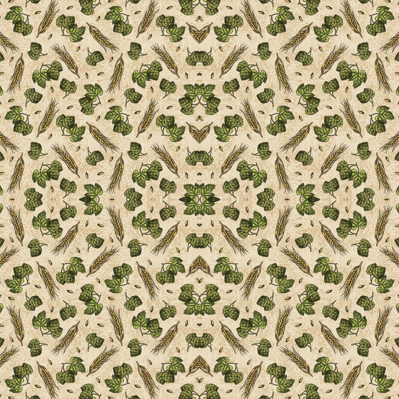 Sw Hops Wallpaper Malibucreative Spoonflower