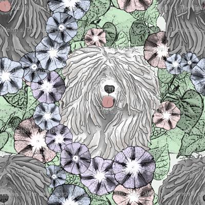 Floral Puli portraits B