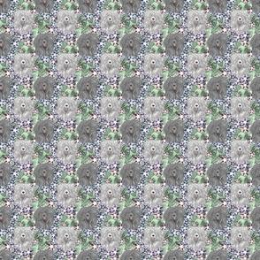 Floral Puli portraits B - small
