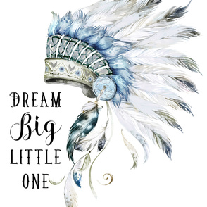 """56""""x108"""" / 3 yards of any 56"""" wide fabric / Dream Big Little One / Chief"""