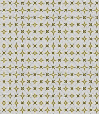 Cream + Gold Diamond Wallpaper