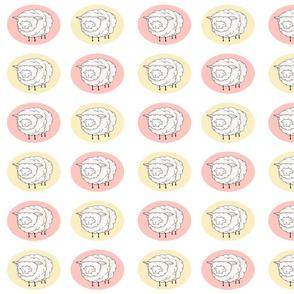 Sheep Ovals