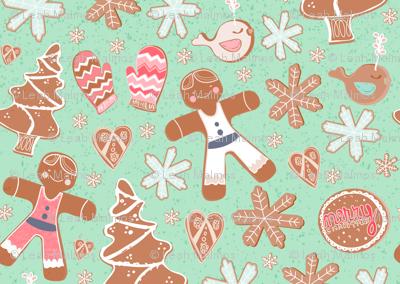Gingerbread Cookie Field