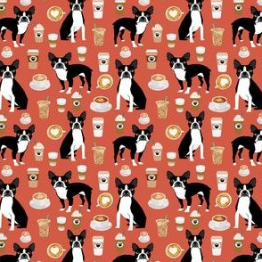 boston terrier dogs fabric smaller cute coffee fabrics best boston terriers dog cute dog fabric