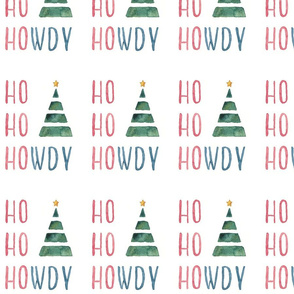 Ho Ho Howdy Christmas print