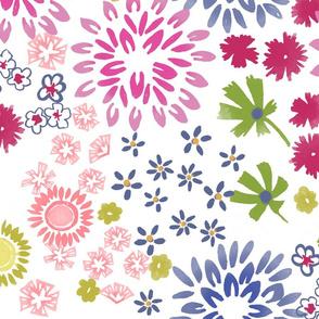 Ditzy Garden Floral