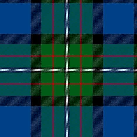 "Ferguson of Atholl tartan, 6"" fabric by weavingmajor on Spoonflower - custom fabric"