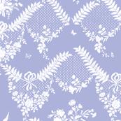 Loire Toile blue violet