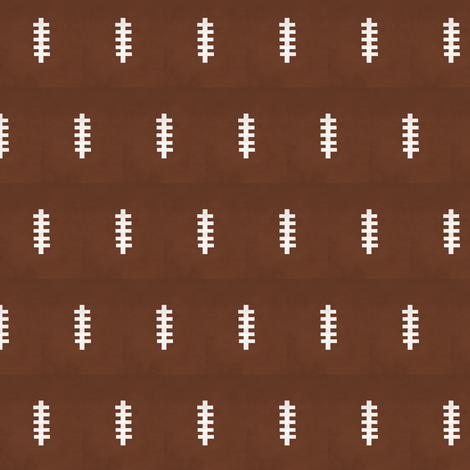 football - vintage  brownSMALL14 fabric by drapestudio on Spoonflower - custom fabric