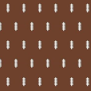 football  brown- 14 SMALL