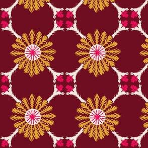 Trellis - Cranberry