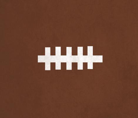 football - vintage brown XL 21x18 fabric by drapestudio on Spoonflower - custom fabric