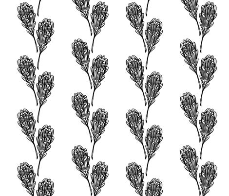 leaf pattern 1 fabric by cardamom_copy on Spoonflower - custom fabric