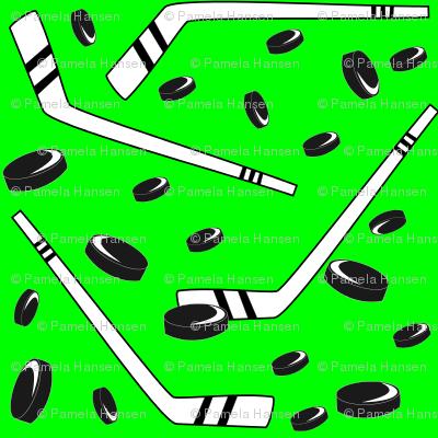 hockey bright green 50