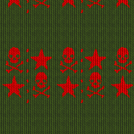 Knit 4 fabric by jadegordon on Spoonflower - custom fabric