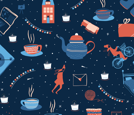 Hygge fabric by agathests on Spoonflower - custom fabric