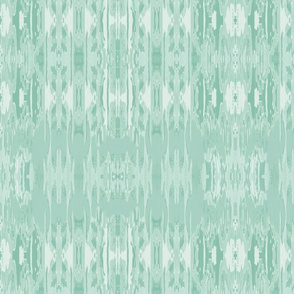 mint green ikat