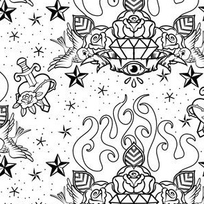 Tattoo Line Art
