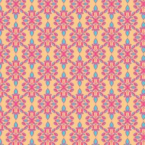 Leaf Grid Pastel