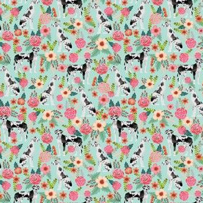 great dane florals smaller scale cute floral flowers dogs fabric best dog breeds dog designs cute dog fabrics florals les fleurs fabric