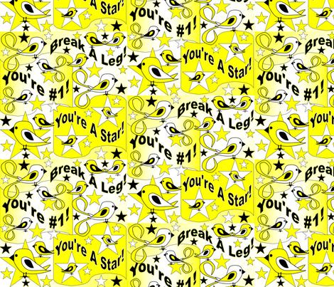 Elmer You're A Star Contest fabric by lworiginals on Spoonflower - custom fabric
