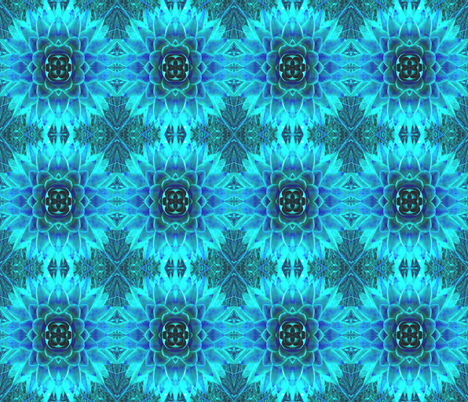 succulence 48 fabric by hypersphere on Spoonflower - custom fabric