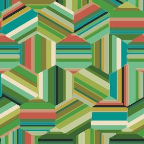 hexagon stripe4
