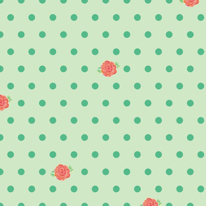 rose_polka_dots_green