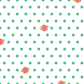 rose_polka_dots_green-white