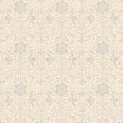 Folk Floral 01   Grey