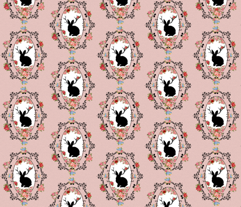 Jackalope fabric by crazyquilts on Spoonflower - custom fabric