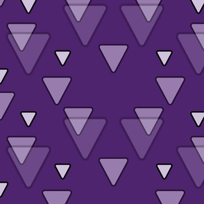 Violet Purple Triangles
