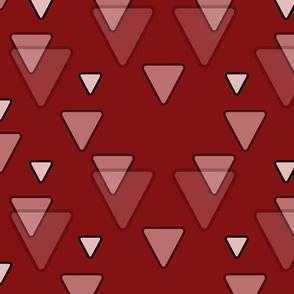 Geometric Triangles in Dark Red
