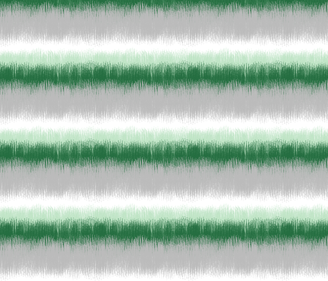 Ikat Stripes in Greens, Gray and White fabric by mel_fischer on Spoonflower - custom fabric