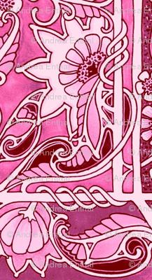 Pink Posy Panels