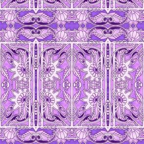 Purple Posy Panels
