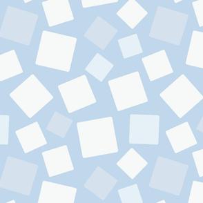 Winter Squares Snow