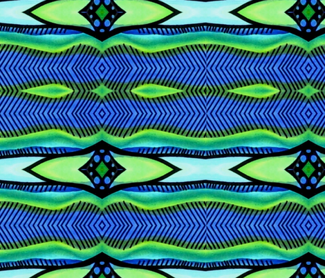 blgrbirdinklines fabric by lil_chick_ent_ on Spoonflower - custom fabric