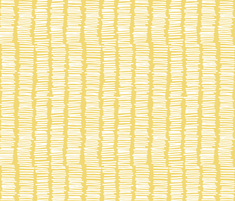 Pick up Sticks White Mustard fabric by designedtoat on Spoonflower - custom fabric