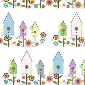 Whimsical Bird-Houses