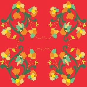 Festive Rosemal