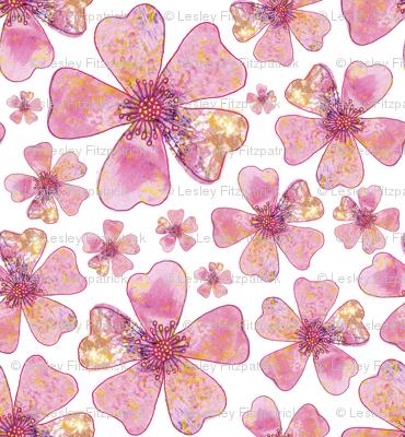 Pink Dog Rose Repeat