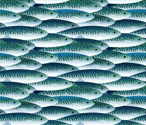 Sea fabric by spellstone on Spoonflower - custom fabric