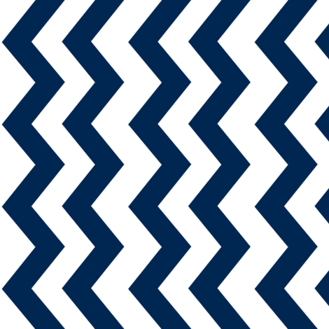 navy chevron fabric by sewluvin on Spoonflower - custom fabric